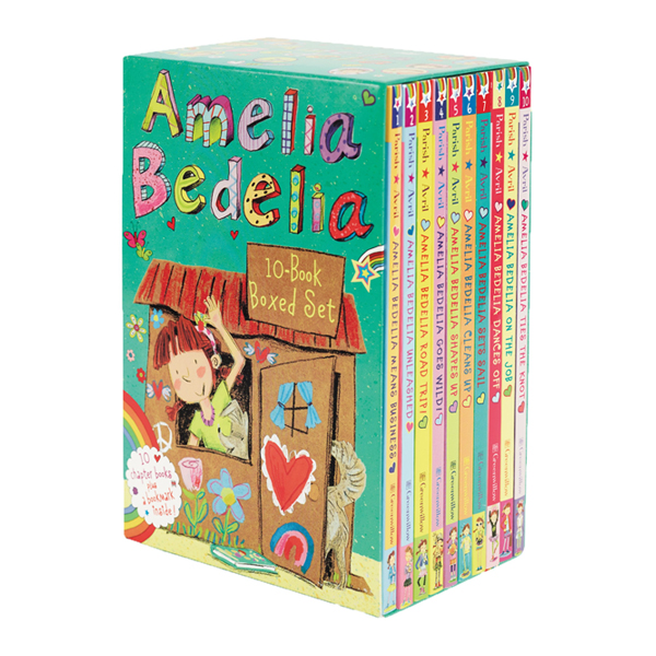 Amelia Bedelia Chapter Book 10-Book Box Set (Paperback, 10권)
