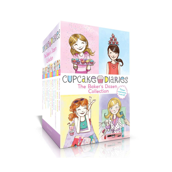 Cupcake Diaries #1-13 Box Set (Paperback)