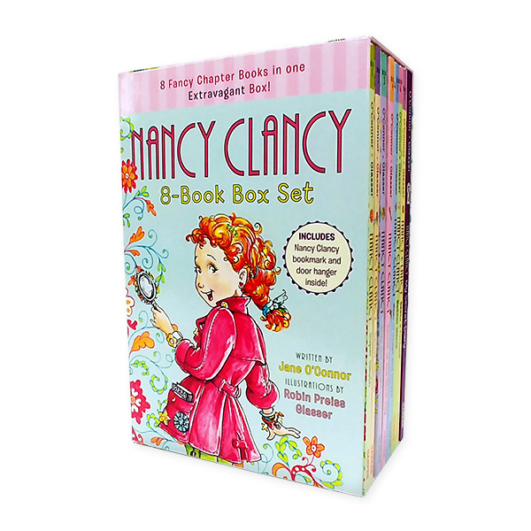 Fancy Nancy : Nancy Clancy #1-8 챕터북 Boxed Set (Paperback, 8권)