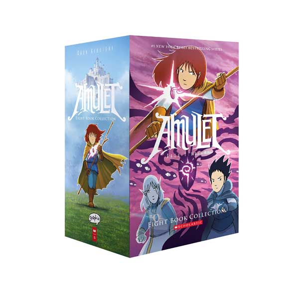 [스콜라스틱] Amulet Collection Graphic Novel #01-8 Books Boxed Set (Paperback)