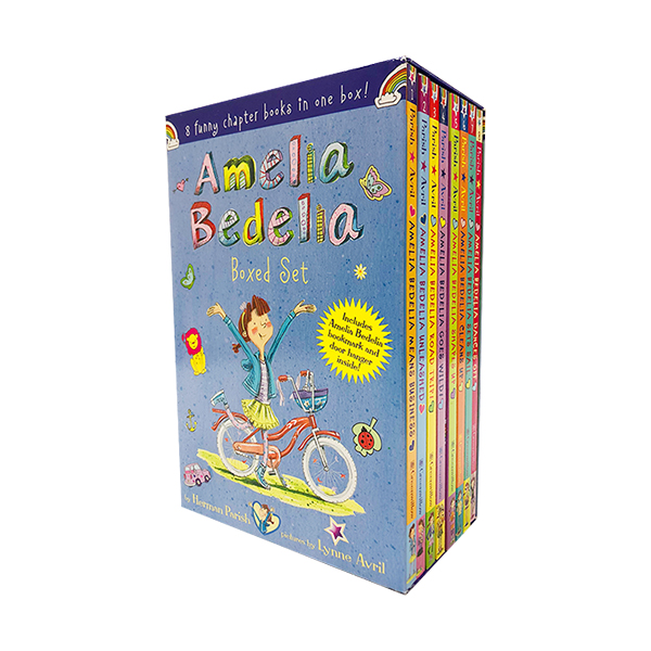 RL 3.7-4.7 : Amelia Bedelia Chapter Book 8-Book Box Set (Paperback, 8권)