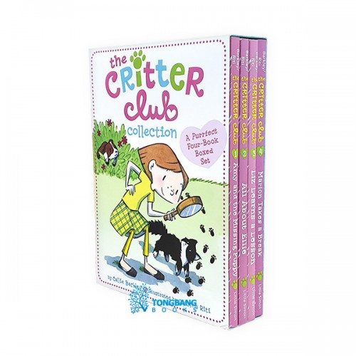 The Critter Club Collection #1 : #01-4 챕터북 Box Set (Paperback)(CD없음)