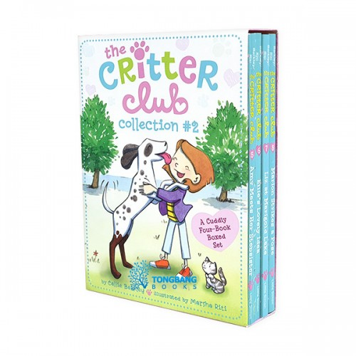 The Critter Club Collection #2 : #05-8 챕터북 Box Set (Paperback)(CD없음)