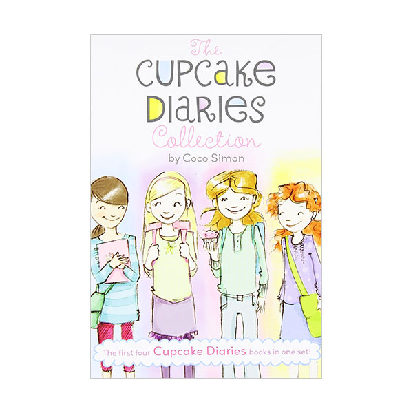 The Cupcake Diaries Collection : The First Four Cupcake Diaries Books in One Set! (Paperback)