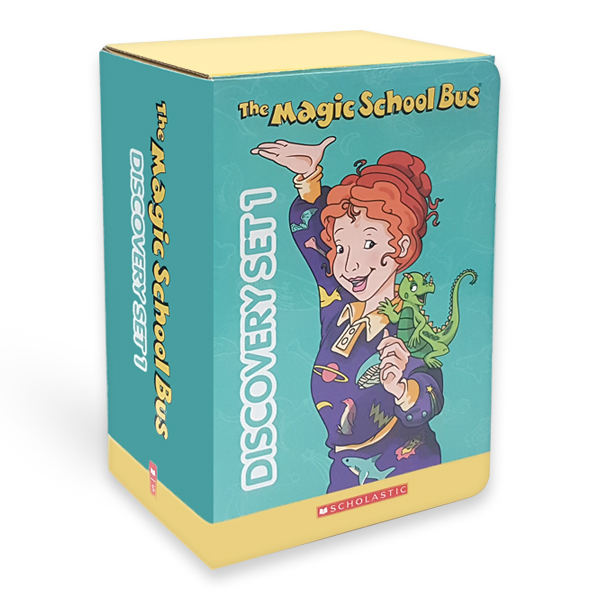 The Magic School Bus Discovery Set #01 (Paperback 10권 &CD 10장)