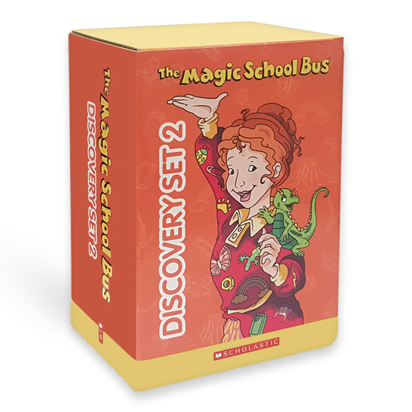 [스콜라스틱] The Magic School Bus Discovery Set 2 (Paperback 10권 & CD 10장)