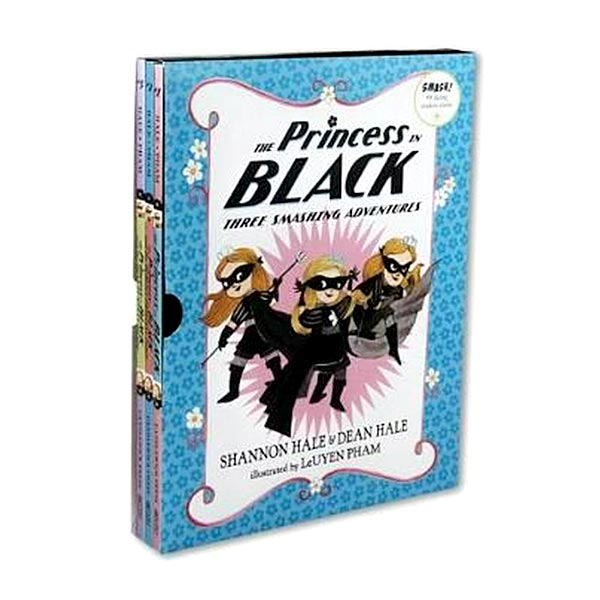 The Princess in Black : Three Smashing Adventures #01-3 Books Boxed Set (Paperback)(CD미포함)