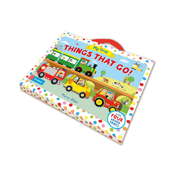 Whizzy Wheels : My First Things That Go! Board Book set (Board book, 4권)