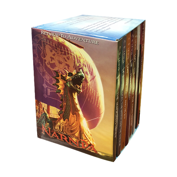 [베스트★] The Chronicles of Narnia Movie Tie-in #01-7 Books Boxed Set (Paperback, 미국판)(CD미포함)