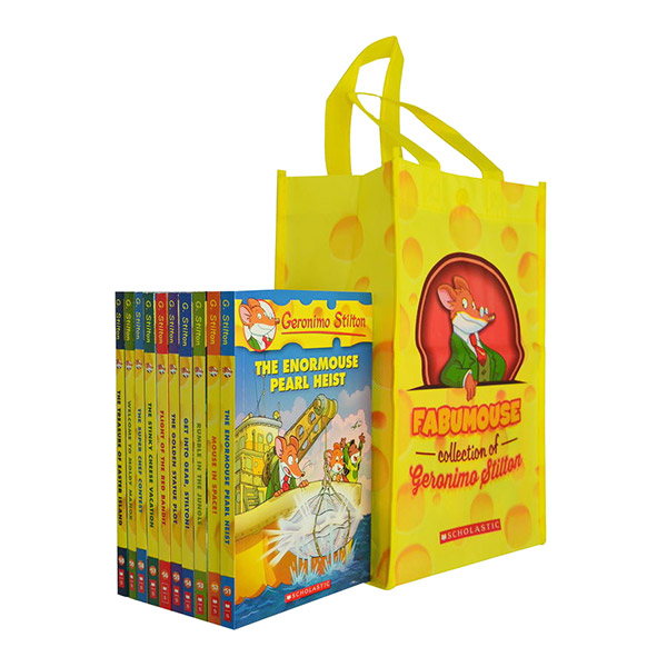 Geronimo Stilton #51-60 Bundle Set (Paperback, 10종, 보조가방)(CD미포함)