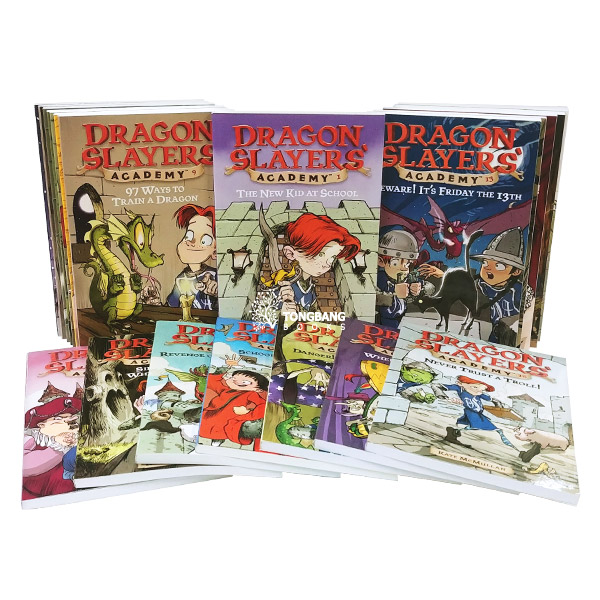 Dragon Slayers' Academy #01-19 챕터북 세트 (Paperback) (CD없음)