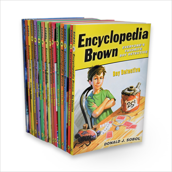 Encyclopedia Brown #01-15 챕터북 세트 (Paperback)(CD없음)