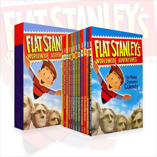 Flat Stanley's Worldwide Adventures #01-15 챕터북 세트 (Paperback, 15종)(CD미포함)