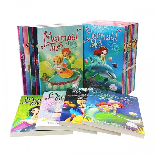 Mermaid Tales 챕터북 1-17 세트 (Paperback) (CD 미포함)