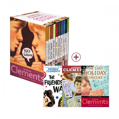 RL 4.1-6.0 : Andrew Clements 작가 12종 세트 (Paperback)