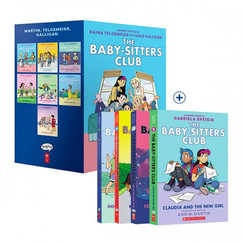 The Baby-Sitters Club 시리즈 코믹스 6종 세트 (Paperback, Graphic Novels)
