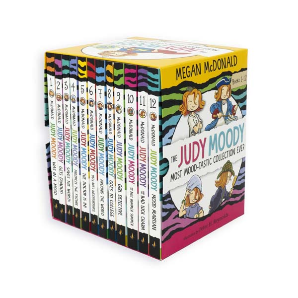 The Judy Moody Most Mood-Tastic Collection Ever (Paperback, 12권 세트)
