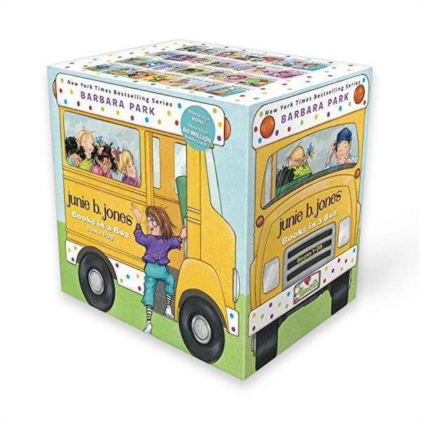 [공동구매] Junie B. Jones : Books in a Bus : #01-28 챕터북 Box Set (Paperback)(CD미포함)