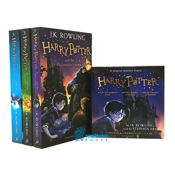Harry Potter #01-3 Book & CD 세트 (Paperback+CD, 영국판)