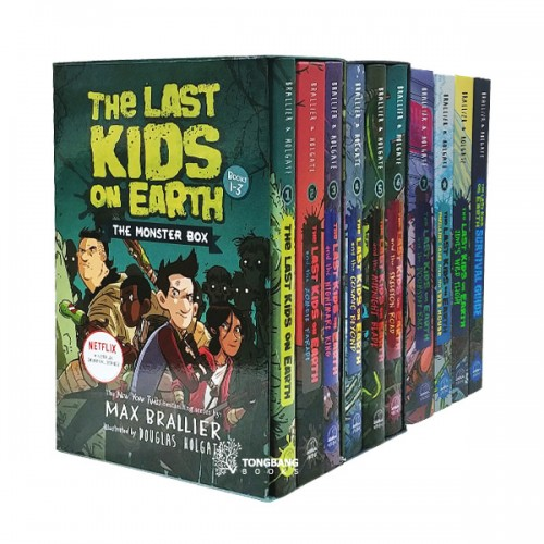 The Last Kids on Earth #01-6 챕터북 세트 (Hardcover) (CD없음)