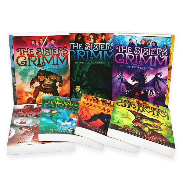 The Sisters Grimm #01-9 챕터북 세트 (Paperback)(CD없음)