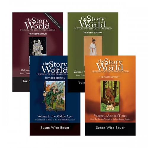 The Story of the World #01-4 4종 세트 (Paperback) (CD미포함)