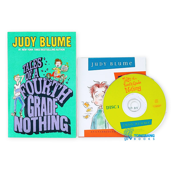 Judy Blume : Tales of a Fourth Grade Nothing Book & CD 세트 (Book&CD)