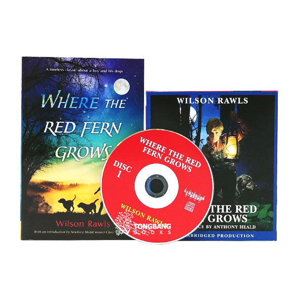 Where the Red Fern Grows Book & CD 세트 (Book&CD)