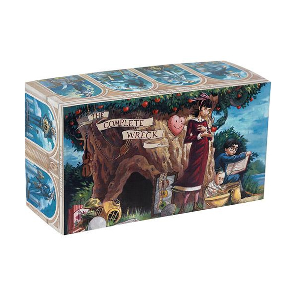 [넷플릭스] A Series of Unfortunate Events: The Complete Wreck : #01-13 Books Box Set (Hardcover)(CD없음)