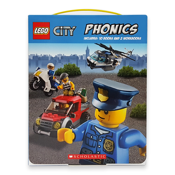 LEGO City Phonics Boxed Set (Paperback, 12권)
