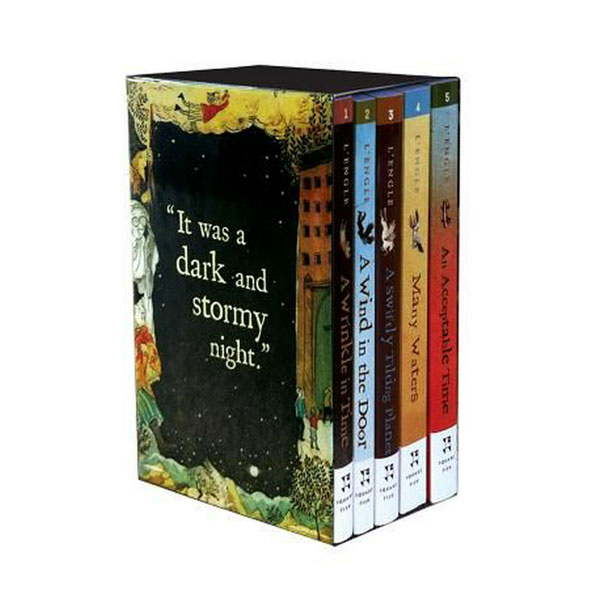 A Wrinkle in Time Quintet #01-5 Books Boxed Set (Paperback)(CD없음)