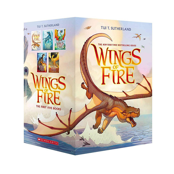 Wings of Fire #01-5 Books Boxed set (Paperback)(CD없음)