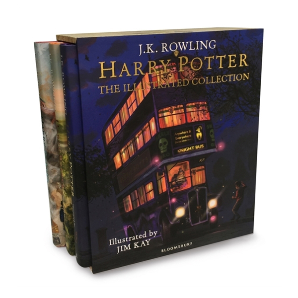 RL 5.5~6.7 : Harry Potter The Illustrated Collection - 3 Books Boxed Set (Hardcover, 영국판)