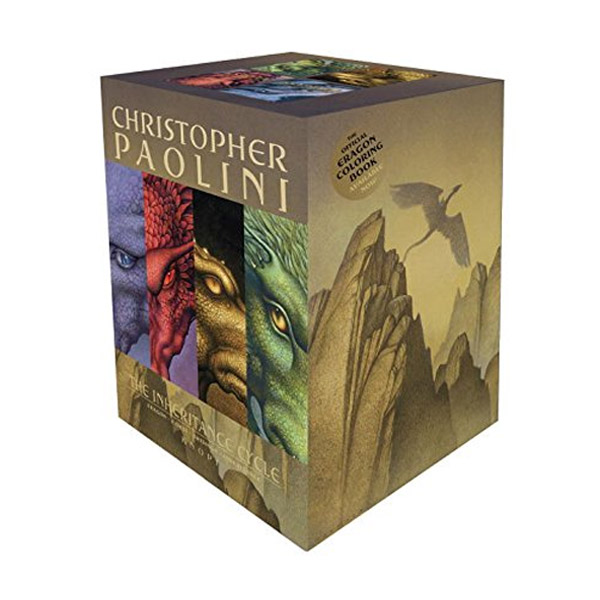 Inheritance Cycle #01-4 Books Boxed Set (Paperback)(CD없음)