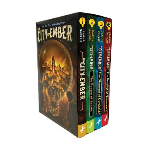 The City of Ember Complete 4 Books Boxed Set (Paperback) (CD없음)