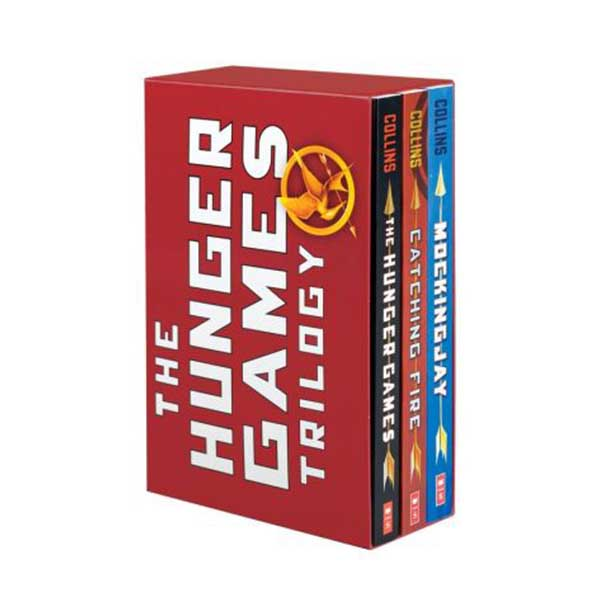 The Hunger Games #01-3 Trilogy Box set (Paperback)(CD미포함)
