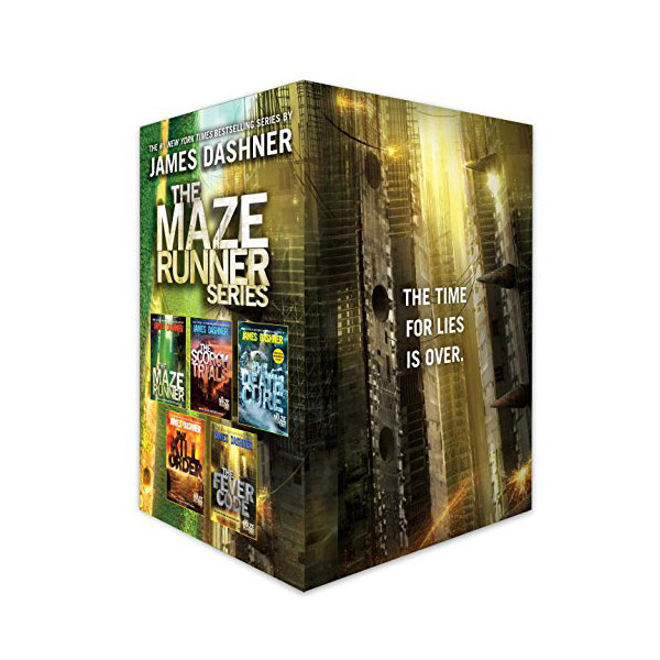 The Maze Runner Series Complete Collection 5종 Boxed Set (Paperback)(CD없음)
