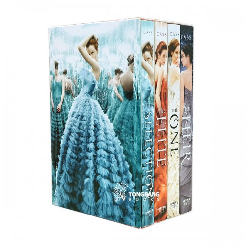 The Selection Series 4 Books Boxed Set (Paperback, 4권) (CD미포함)