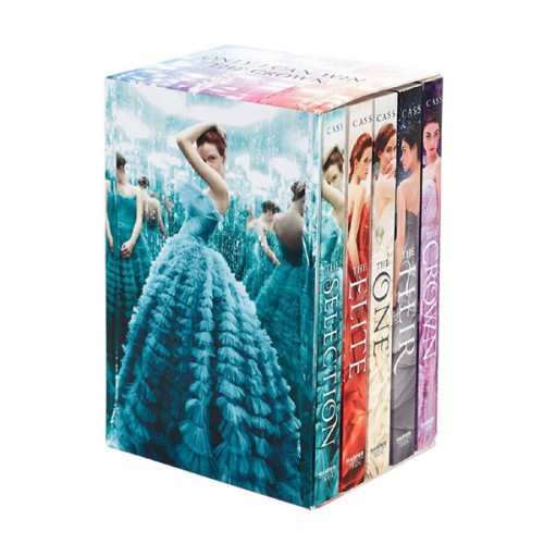 The Selection Series 5 Books Boxed Set (Paperback, 5권) (CD미포함)
