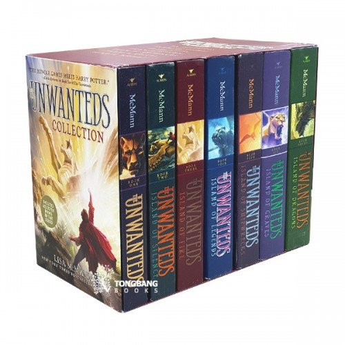 The Unwanteds Collection #01-7 Books Boxed Set (Paperback) (CD없음)