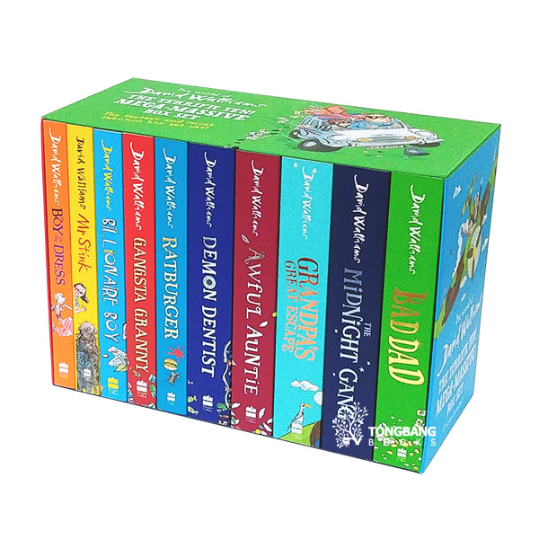 The World of David Walliams : The Terrific Ten : Mega-Massive Box Set (Paperback, 10종, 영국판)(CD미포함)