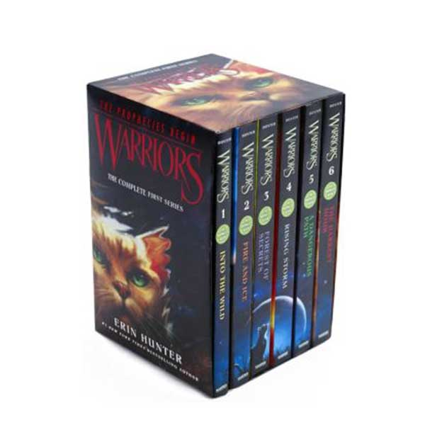 Warriors 1부 : The Prophecies Begin #01-6 Box Set (Paperback)(CD없음)