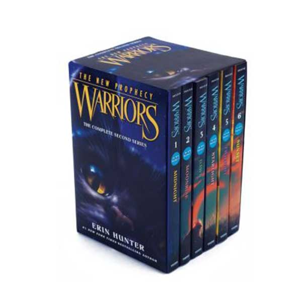 Warriors 2부 The New Prophecy #01-6 Box Set (Paperback)(CD없음)