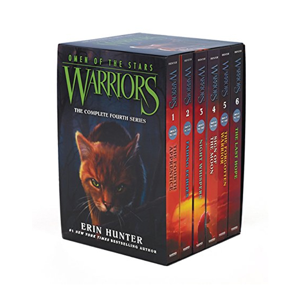 Warriors 4부 : Omen of the Stars #1-6 Box Set