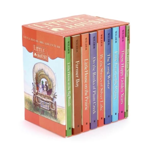 Little House #01-9 Books Boxed Set (Paperback)(CD없음)