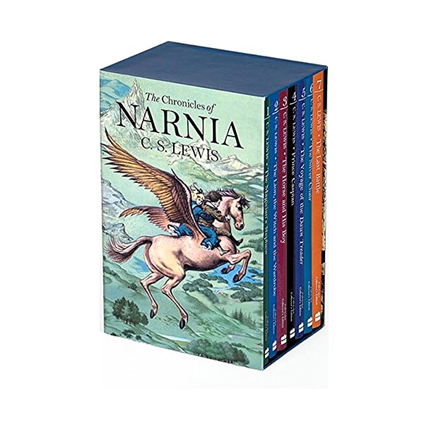 [베스트★/컬러판] The Chronicles of Narnia #01-7 Books Boxed Set (Paperback, 미국판)(CD미포함)