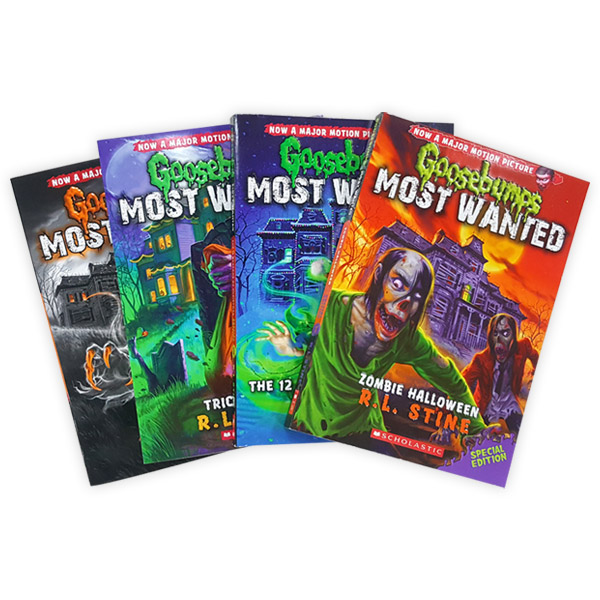 Goosebumps Most Wanted Special Edition 챕터북 4종 세트 (Paperback)