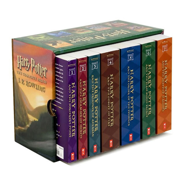 [베스트★] Harry Potter #01-7 Books Boxed Set (Paperback, 미국판)(CD미포함)