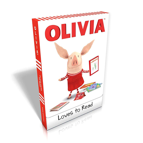 Ready to read 1 : OLIVIA Loves to Read Box Set (Paperback, TV Tie-in Edition)