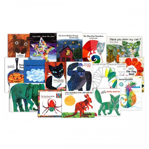 [에릭칼] The World of Eric Carle 픽쳐북 20종 세트 (Paperback)